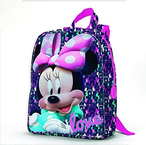 Coriex Loving Disney Minnie Kleine Rucksack Kinderrucksack, Mehrfarbig, M