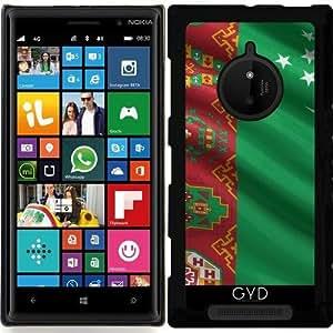 Funda para Nokia Lumia 830 - Bandera De Turkmenistán by Carsten Reisinger