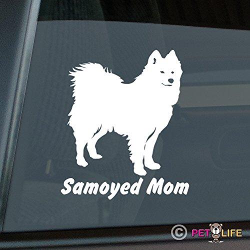 Samoyed Mom Sticker Vinyl Auto Window sammy