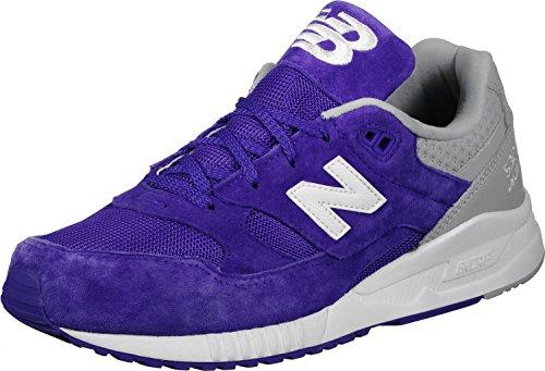 Nieuw Evenwicht Mannen M530 Sneakers Blauw Wit
