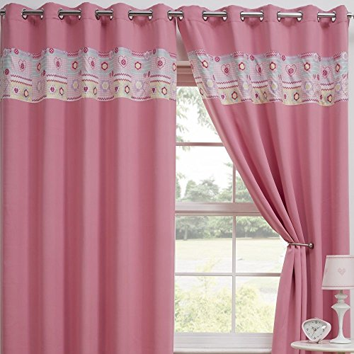 72 inch curtain panel pink - 7