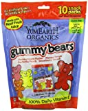yummy earth gummy bears - YumEarth Organic Gummy Bears, 10 Count