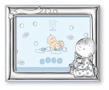 silver touch usa sterling silver picture frame baby boy 4