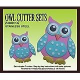 Owl Cutter Set (Medium)