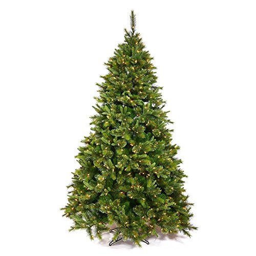 Vickerman Cashmere Pine Artificial Christmas Tree with 90...