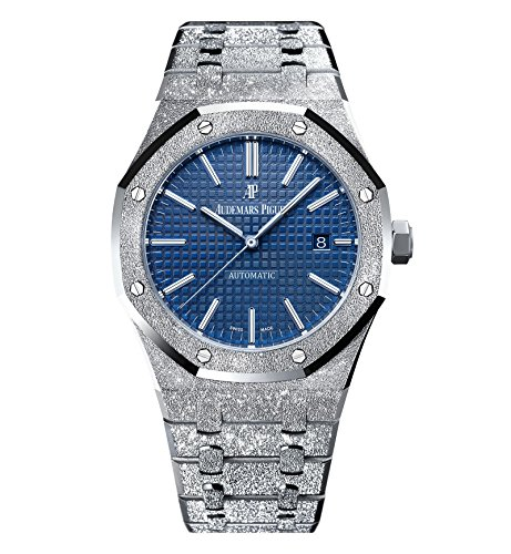 Audemars Piguet Royal Oak 41 Frosted White Gold Blue Dial Limited Edition of 200 15410BC.GG.1224BC.01