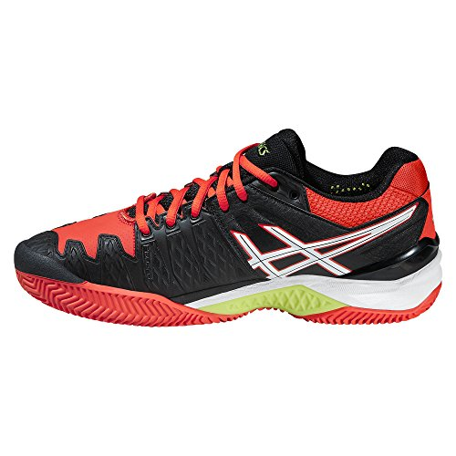 Asics Gel Resolution 6 Clay, Farbe Schwarz