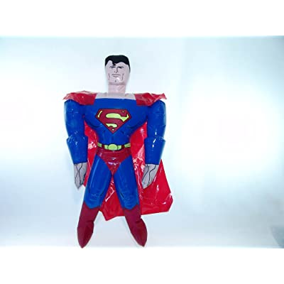 Rhode Island Novelty Superman Party Inflatable Doll Discontinued by Manufacturer: Toys & Games