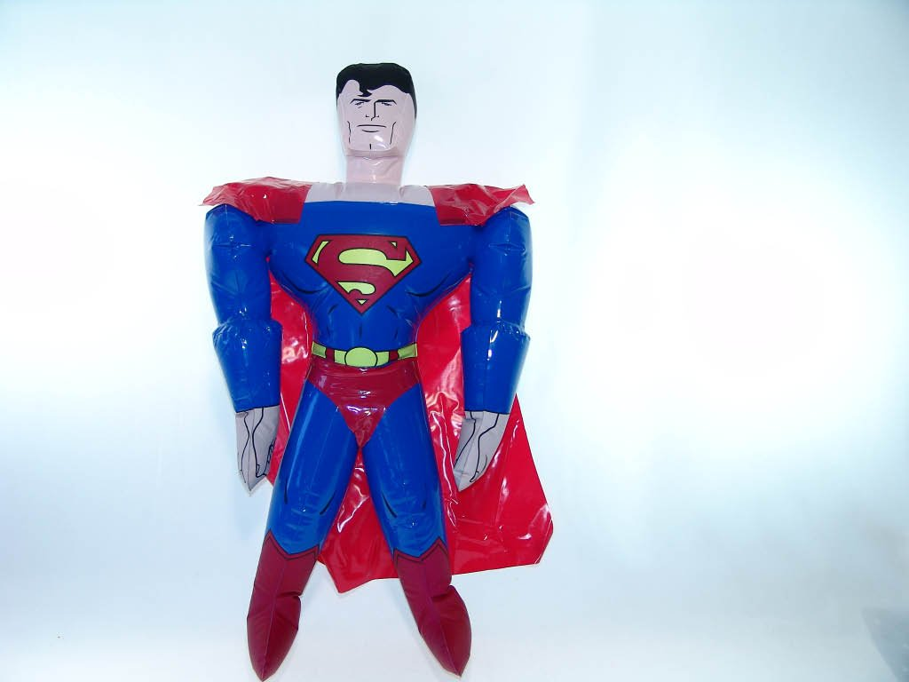 Rhode Island Novelty Superman Party Inflatable Doll Discontinued by Manufacturer