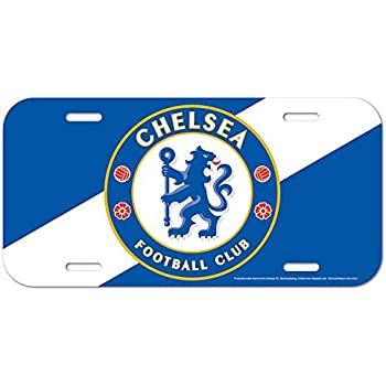 WinCraft Chelsea FC Official PREMIER LEAGUE 12 inch x 6 inch Plastic License Plate by 256843