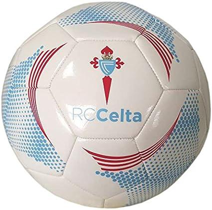 R.C. Celta de Vigo Celta 2018 Balón, Blanco/Azul: Amazon.es ...