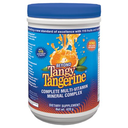 3 Pack Beyond Tangy Tangerine Youngevity Liquid Multivitamin 420g Canisters (Worldwide Shipping) by Youngevity