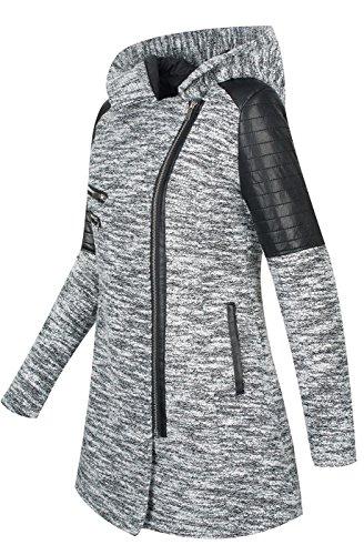 chin B270 chaud Manteau en d'hiver laine Y4wzAwqX