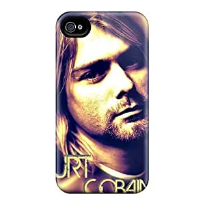 Durable Kurt Cobain Back Case/cover For Iphone 4/4s