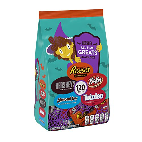 🥇 HERSHEY'S ALL TIME GREATS Halloween Candy Assortment