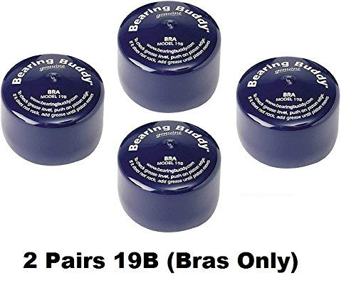 Bearing Buddy Protective Bra Cap 19B - Model 70019 19-B (2 Pairs) Bras ONLY ()