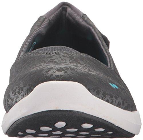 Ryka Womens Stupisce Fashion Sneaker Grigio / Blu