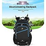 YTYC Outdoor Waterproof Mountaineering Backpack Multifunctional Travelling Bag