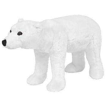 Polar Pie Blanco Tamaño Oso Peluche Animal Xxl De Vidaxl kXuiPZ