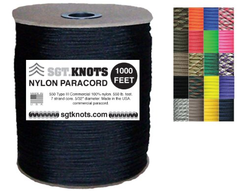 SGT-KNOTS-Paracord-50-Colors-1000-foot-spools-200-foot-spools-100-feet-on-winder