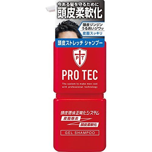 PRO TEC(프로 테크) 두피 스트레치 샴푸 본체 펌프 300g(/)