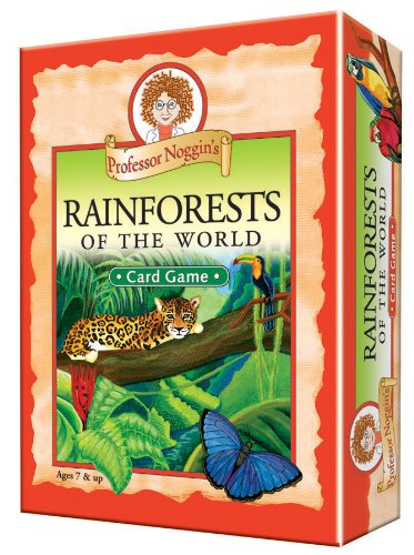 Educational Trivia Card Game - Professor Noggin's Rainforests
