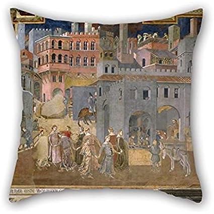 Amazon.com: Pintura al óleo Ambrogio Lorenzetti – Efectos ...