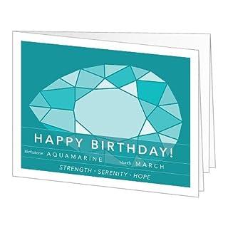 Amazon Gift Card - Print - Birthday Birthstone: March (Aquamarine) (B00N594JXC) | Amazon price tracker / tracking, Amazon price history charts, Amazon price watches, Amazon price drop alerts