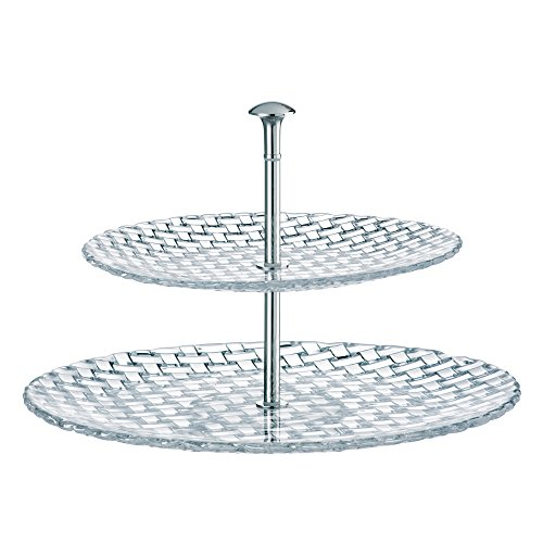 Nachtmann Dancing Stars Bossa Nova Crystal Two Tier ()