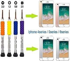 qiaoyosh iPhone Destornillador Herramienta, Kit de Reparacion para ...