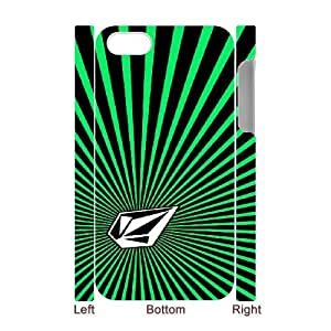 Volcom for iphone4 4S 3D Cell Phone Case & Custom Phone Case Cover R36A879244