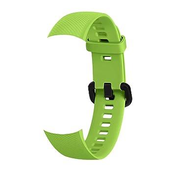 Lepeuxi Smartwatch Band Reemplazo Pulsera de Gel de sílice ...