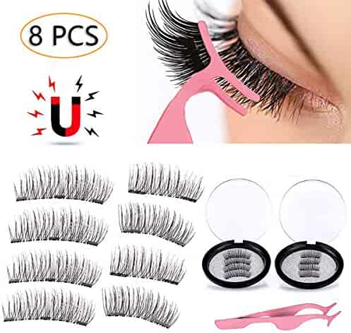 008ac761225 3D Magnetic Eyelashes Natural Full Eye Magnetic Lashes Ultra Thin Reusable  & Handmade 3 Magnet Eyelashes