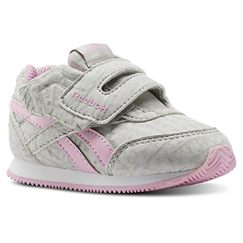 Reebok Reebok Royal CLJOG 2KC–Sneaker, Mädchen, grau–�?elephant-cloud Grey/Charming Pink)