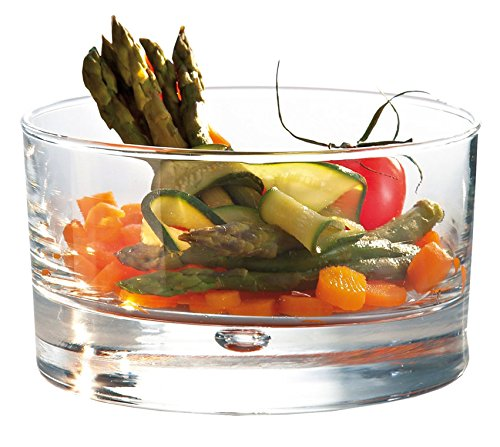 Durobor Disco Dishes, Salads & Appetizers Dishes, 14-Ounce, Set of 4 for $<!--$27.71-->
