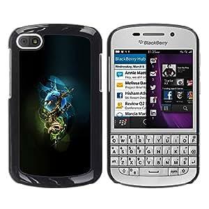 "For BlackBerry Q10 , S-type Árbol místico"" - Arte & diseño plástico duro Fundas Cover Cubre Hard Case Cover"