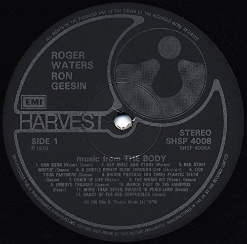 Music from the body (#shsp4008, & Roger Waters) / Vinyl record [Vinyl-LP]