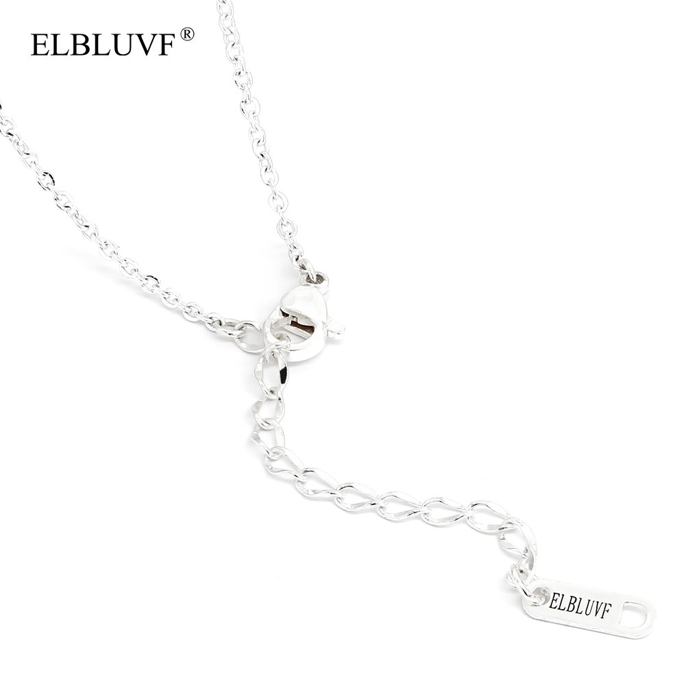ELBLUVF Newest Stainless steel Silver Plated Anchor and Infinity Lariat Y Necklace 18inches U7HJ7JUM9