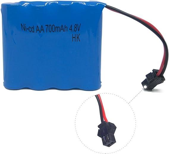 Amazon.com: Coche a batería recargable, 700mAh ...