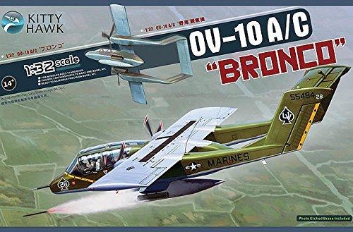 (Kitty Hawk KTH32004 1:32 OV-10A OV-10C Bronco [Model Building KIT])