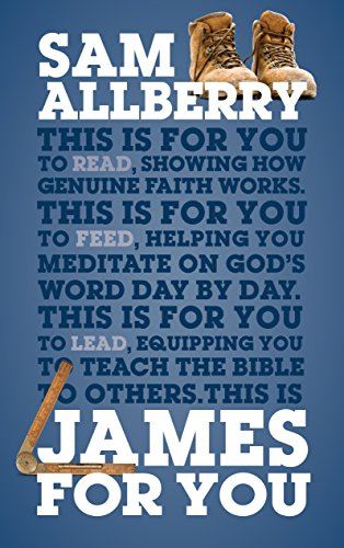 James For You: Showing you how real faith looks in real life (God's Word For You) cover