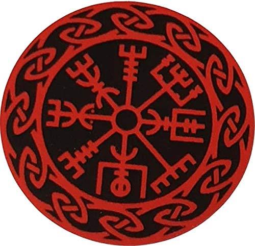 Pegatina de vinilo para parachoques Vegvisir de MAMA, color rojo ...