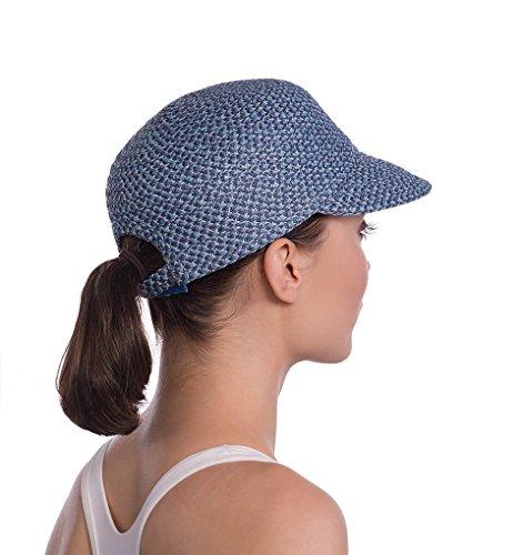Eric Javits Luxury Fashion Designer Women's Headwear Hat - Mondo Cap