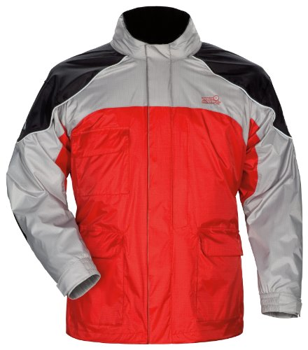 Tourmaster Mens Red Sentinel Rainsuit Jacket - (Sentinel Rainsuit Jackets)