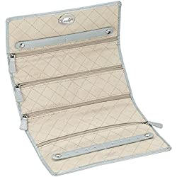 WOLF 315324 London Jewelry Roll, Ice