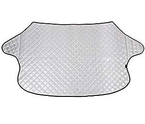 chytaii coche parabrisas Parasol Auto aluminio pantalla scheibenabdeckung protectora Parabrisas Nieve Protección Universal para Vehículos Auto 142* 92cm