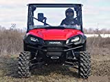 Super ATV Honda Pioneer 1000 (2016+) Scratch Resistant Full Windshield