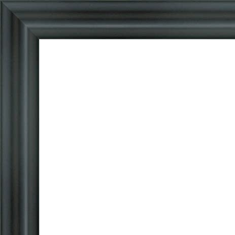 Amazon.com - 6x18 - 6 x 18 Swoop Black Solid Wood Frame with UV ...