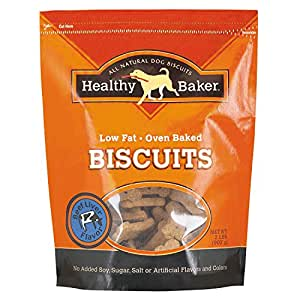 "Healthy Baker Flavored Biscuits  -  Wholesome and Delicious Treats for Dogs - Beef Liver, 2"", 2 lbs."