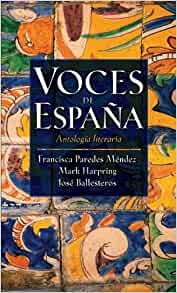 Amazon.com: Voces de Espana: Antologia literaria (Spanish